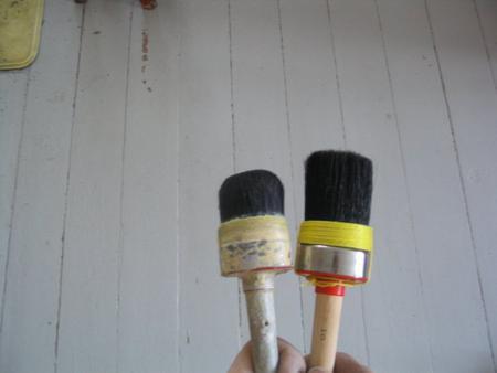 Öljyväri pensselin puhdistus